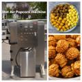 how to use a hot air popcorn machine