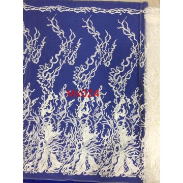 Warp Knitted Lace Fabric for wedding