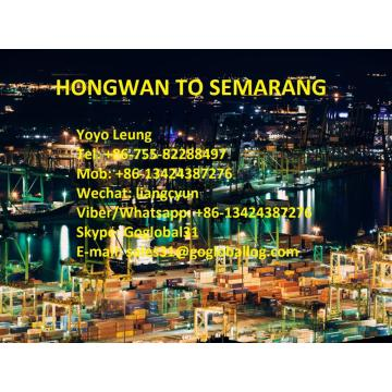 China Factories for Break Bulk Sea Freight To Asia Zhuhai Hongwan Sea Freight to Indonesia Semarang export to Indonesia Manufacturer