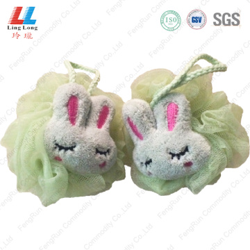Massage charming rabbit mesh bath ball