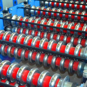 Galvanized Sheet Corrugated Cold Roll Forming Making Machine