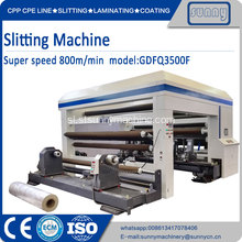 Širok Web Surface Slitter Rewinder Machine