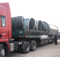 truck tire pyrolysis to oil plant