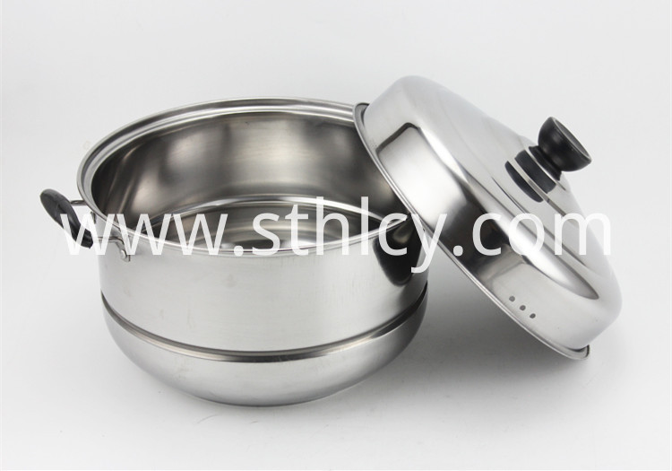 Stainless Steel Steamer Pots