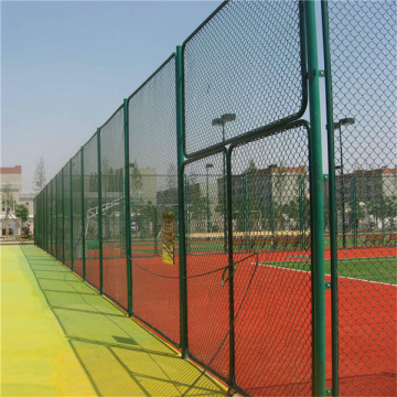 Dark Green Chain Link Fence for Playground