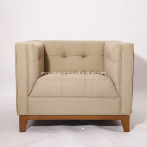 OEM Manufacturer for Leather Sofa Atwood High Quality Premium Cashmere Armchair export to Indonesia Exporter