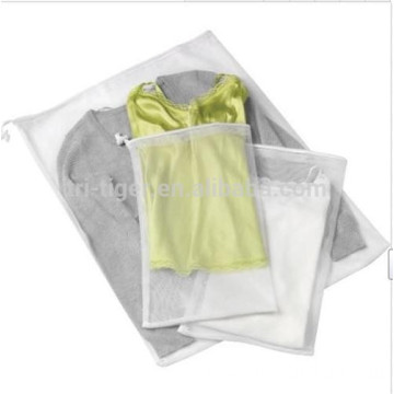 3 Piece mesh laundry wash bag Set with durable mesh