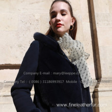 Kopenhagen Mink Fur Overcoat For Women