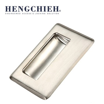 Silvery Mirror-polished SS Cabinet Door Handle