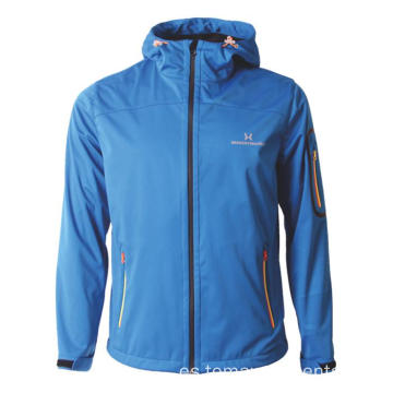 Chaqueta softshell de senderismo muy transpirable simple