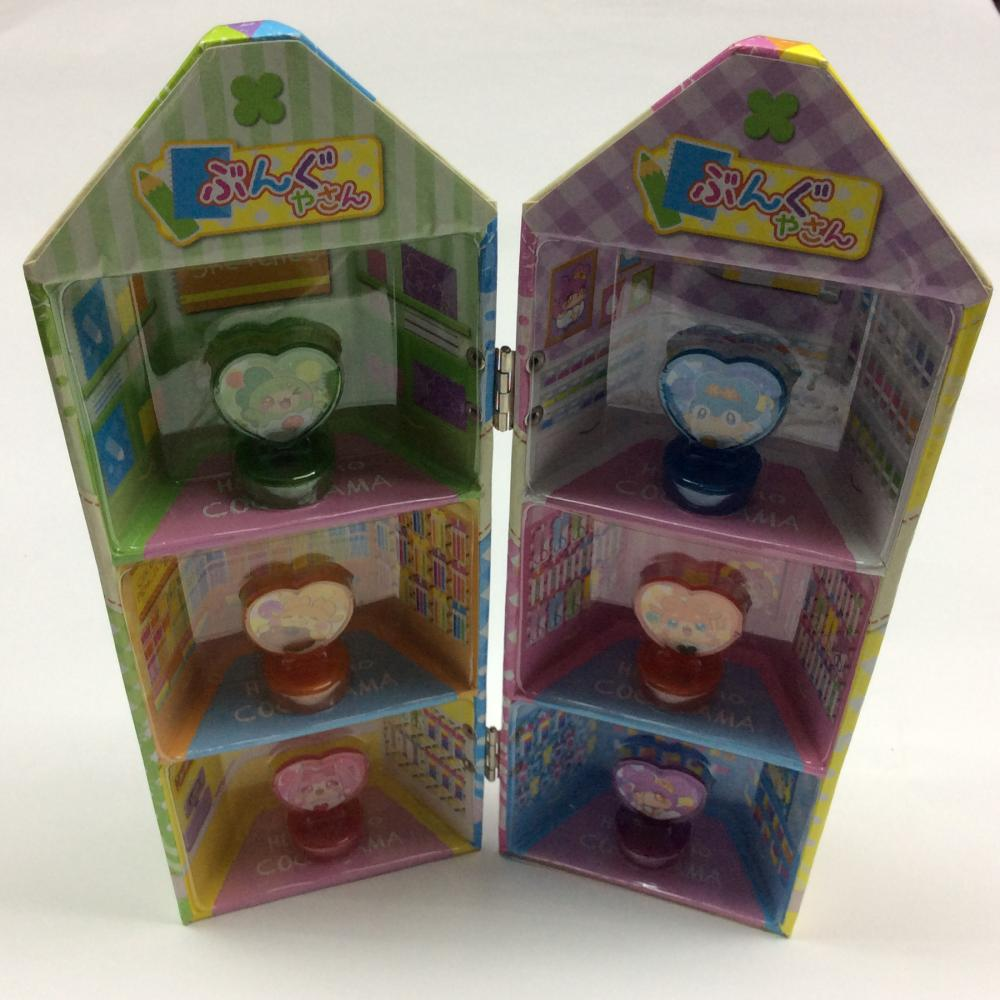 pen-shaped cartoon stamp gift box