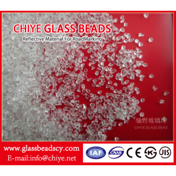 Glass Particles for Road Markings