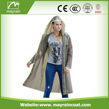 Hot Selling Casual Custom PVC Outdoor Jacket