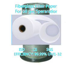 Oil air separator glassfiber filter paper