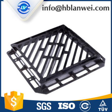 Quality Inspection for Gully Grates Cast iron storm heavy duty drain grate drain cover steel grating drain grating export to South Korea Factory