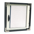 Retractable window with aluminum frame 0968