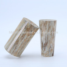 Marble Effect Crystal Cylinder Glass Vase