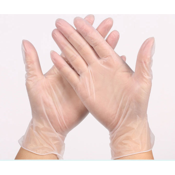 Hospital use disposable surgical type vinyl medical gloves