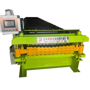 New double layer roofing machine