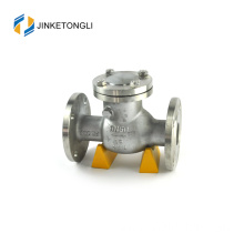 "JKTLPC009 backflow swing forged steel flow control 1 1/4"" check valve"