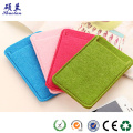 Customized color and design felt mobile pouch