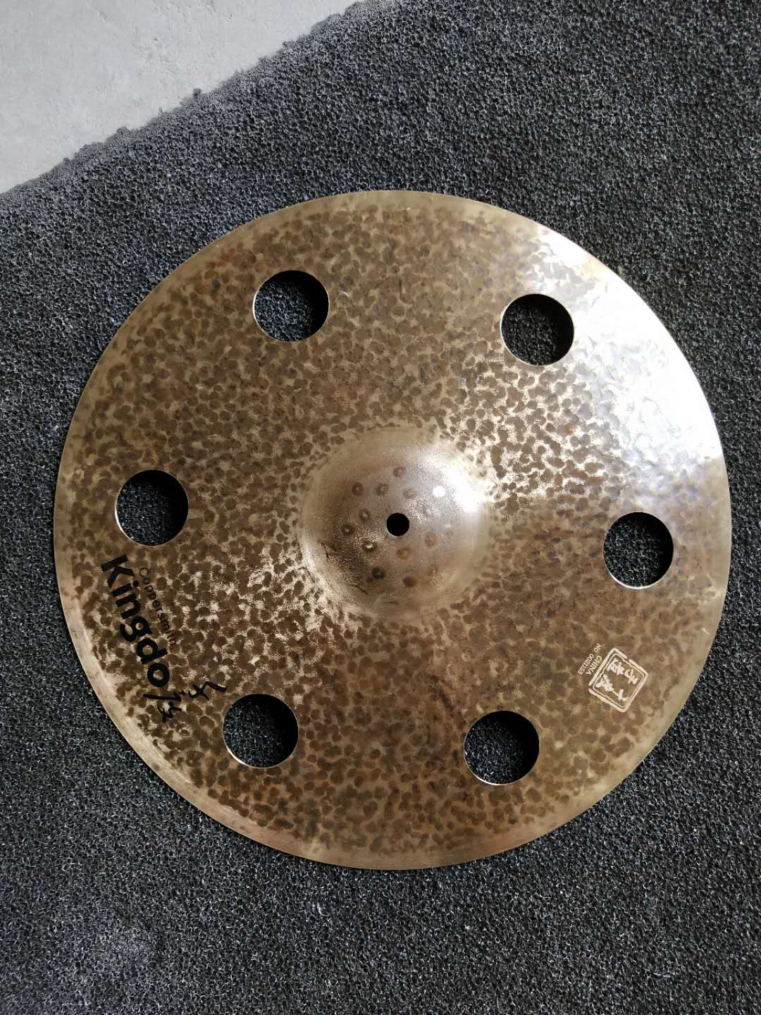 B20 Cymbals With Holes