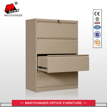 metal lateral 4 drawer filing cabinet
