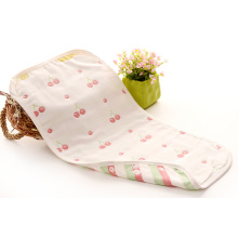 Cherry Pattern Gauze Cotton Newborn Baby Towel