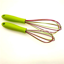 China for Kitchen Silicone Whisk Bake silicone egg beater export to Portugal Supplier