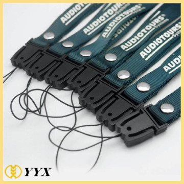 Customized fashion silk-screen printing lanyard