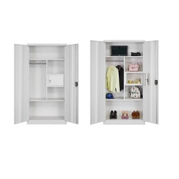 Home Use Metal Clothes Wardrobe