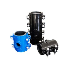 Ductile iron wide range repair clamp Collars