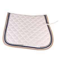 Low Cost for Orange Horse Saddle Pads 100% Cotton Colorful English Horse Saddle Pad supply to Sao Tome and Principe Manufacturer