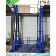 1.5t Chain Guide Rail Vertical Hydraulic Cargo Lift