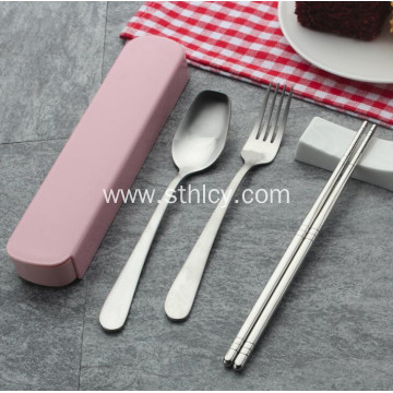 3 Pieces Stainless Steel Tableware