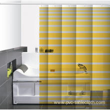 Waterproof Bathroom printed Shower Curtain and Liner