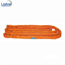 8T Loading Capacity Polyester Lifting Round Sling
