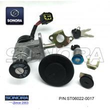 Special for Baotian Scooter Lock Set CPI-KEEWAY Lock Set (P/N:ST06022-0017) Top Quality supply to Indonesia Supplier
