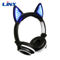 Handsfree On Ear Headphones Stereo Cat Headset