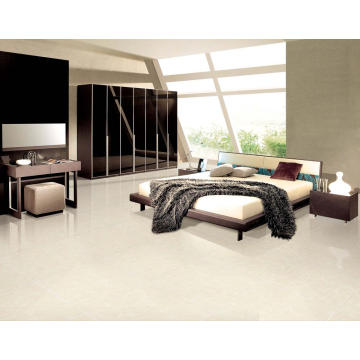 Airflow Ivory White Polished Porcelain Tile
