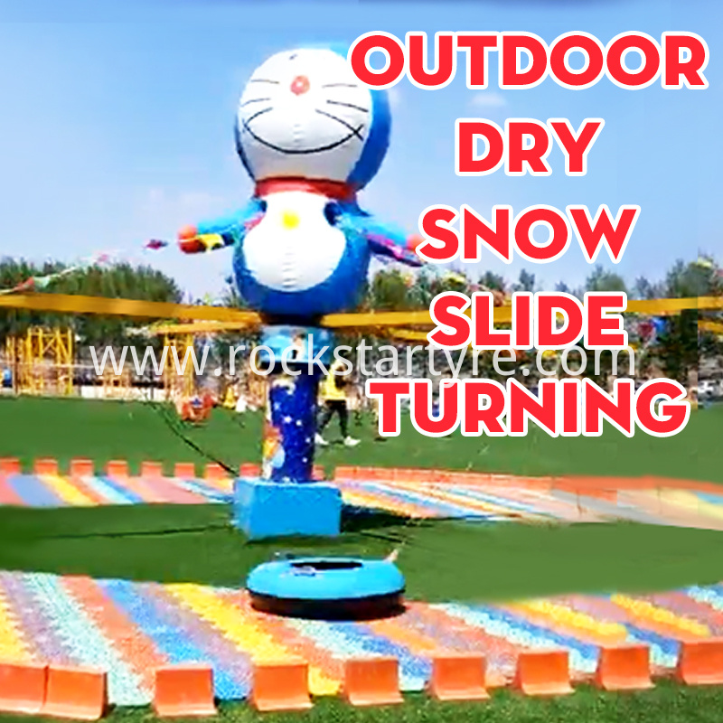 Snow Turning Outdoor Water Drifting For Amusement Park