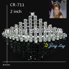 Wholesale Silver Rhinestone Pageant Crowns