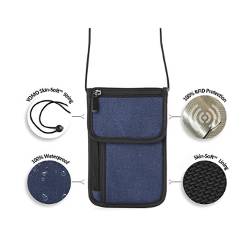 RFID Blocking Passport Bags Pouches for Travel