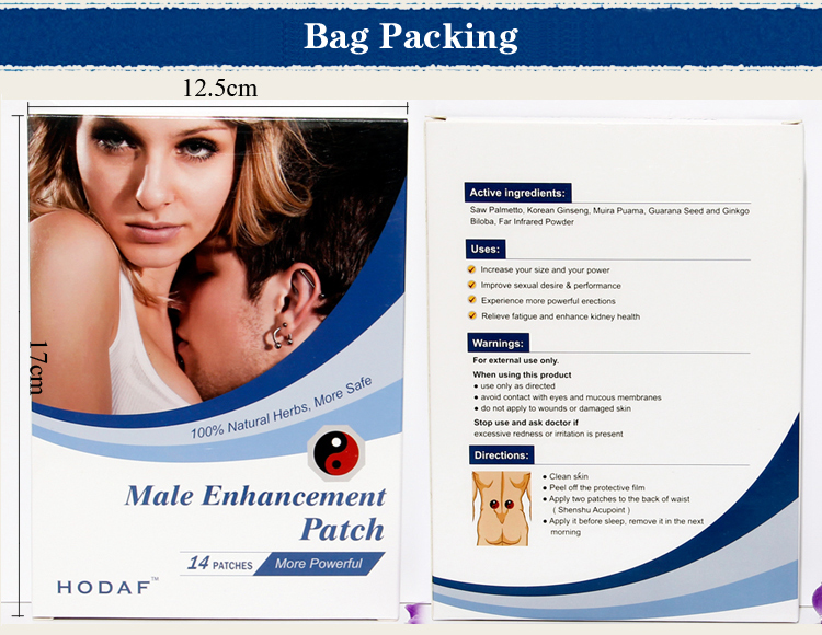 male enhancement patch
