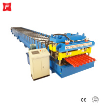 Arc Corrugated Glazed Tile Roll Forming Machine