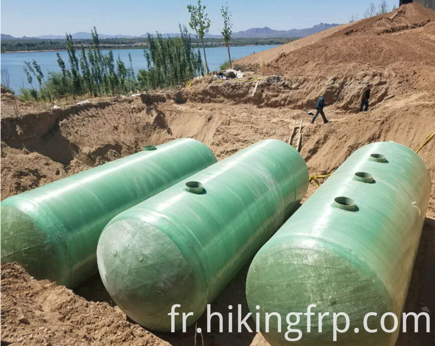 Septic Tank For Industrial Waste Water