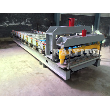 Hydraulic Press Metal Roof Glazed Tile Making Machine