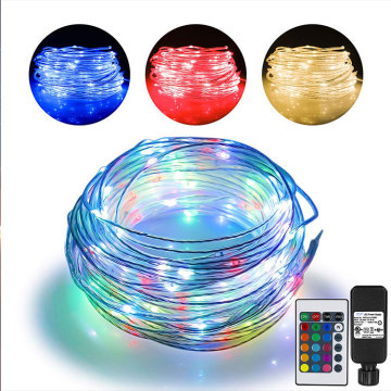 66ft Led Rope Outdoor String Lights