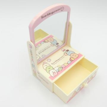 Plastic mini dressing table with drawer