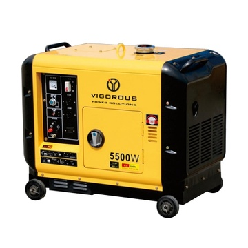 9KW Silent Commercial Diesel Power Generators For Sales